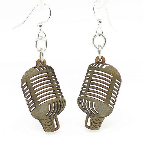 Retro Vintage Microphone Earrings
