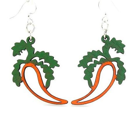 Carrot Dangle Earrings