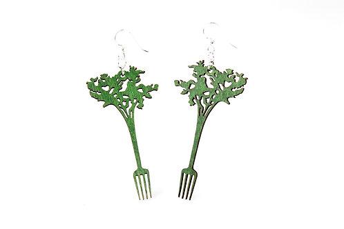 Carrot Fork Earrings