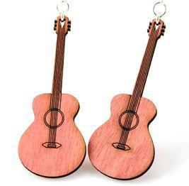Classic Guitar Earrings