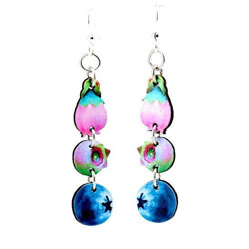 Blueberry Dangle Earrings