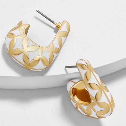 Mely Enamel Earrings