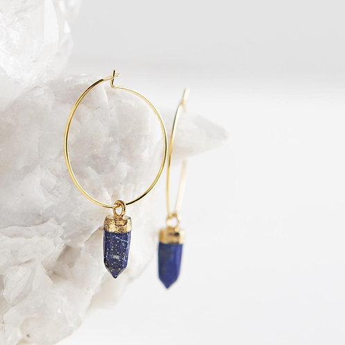 Berklee Earrings-Lapis Lazuli