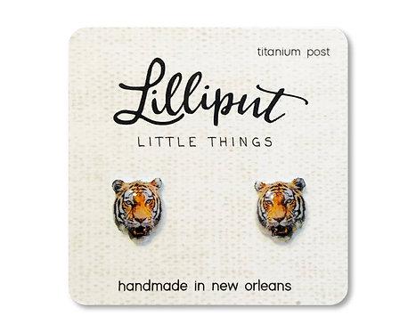 Tiger! Tiger! Stud Earrings