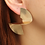 Thumbnail: Chic Swirl Earrings Gold or Silver