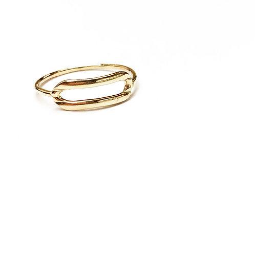Krystal Link Ring