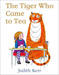 The Tiger Who Came to Tea - book of the month.