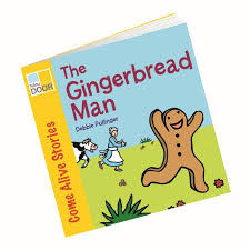The Gingerbread Man - book of the month