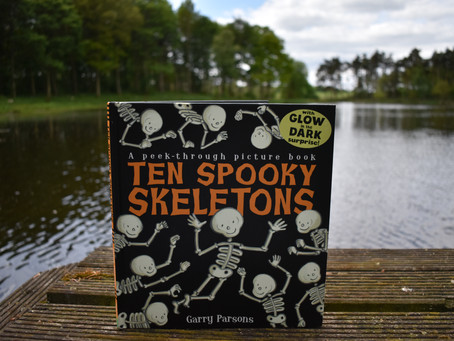 10 Spooky Skeletons - Book of the month