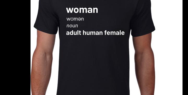 Men's Adult Human Female T-Shirt
