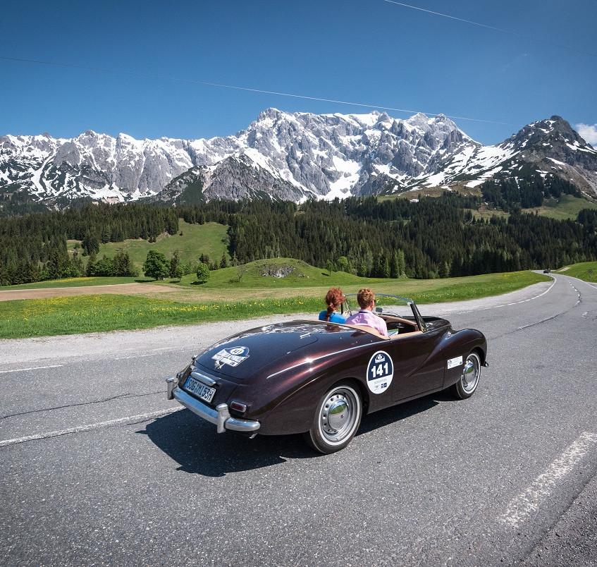 Kitzbühel Alpenrally Sunbeam Alpine