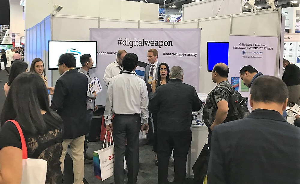 Expo Seguridad 2018 SwiftAlarm!