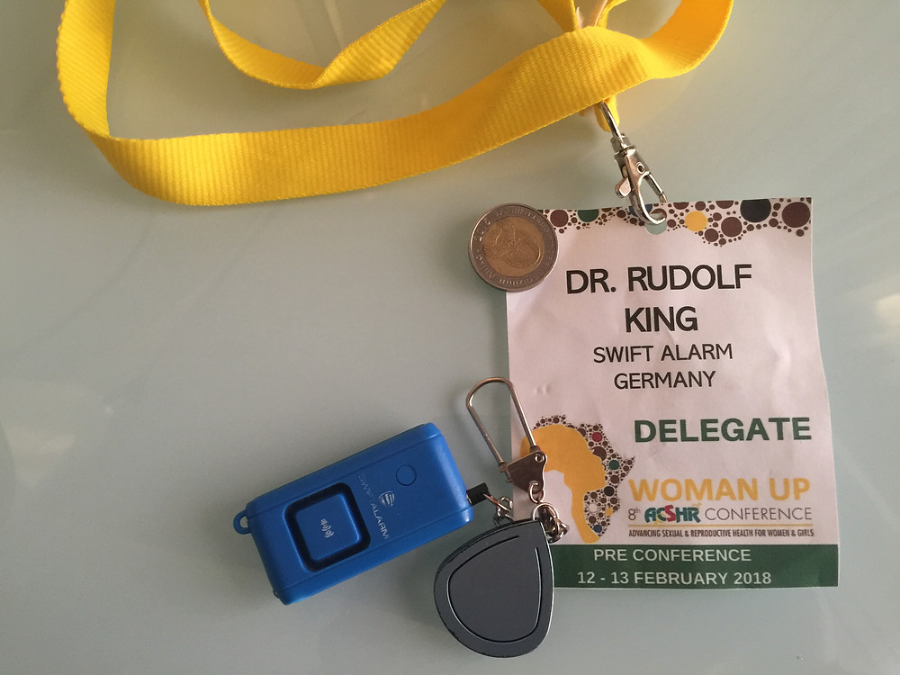 Badge Dr Rudolf King