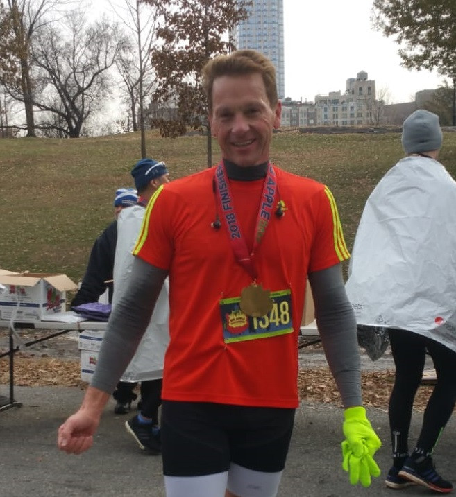 Dr. King at Big Apple Half Marathon