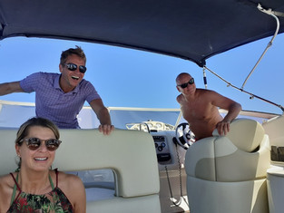 Bootsausfahrt am Gardasee