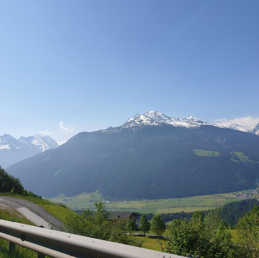 Panorama bei Kitzbühel