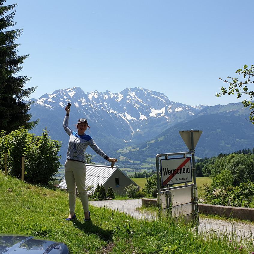 Kitzbühel Alpenrally Liuba Tsepeleva