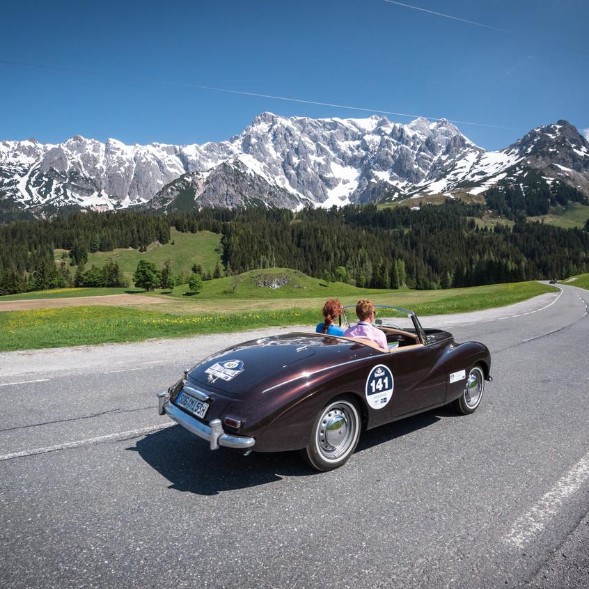 Alpenrally Sunbeam Alpine Mark I