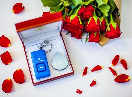 Liebe ist... Sicherheit zum Valentinstag schenken