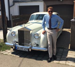 Mit dem Rolls-Royce auf den Vienna Classic Days