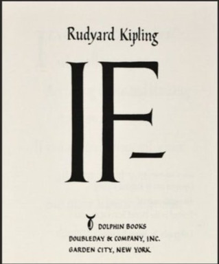 "Ayn Rand on the poem ""IF"" by Rudyard Kipling"
