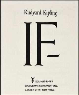 """Ayn Rand über das Gedicht """"Wenn"""" von Rudyard Kipling"""
