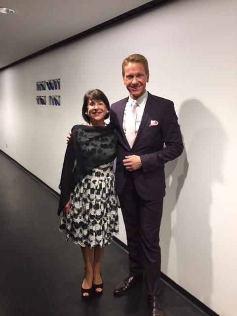 Dr King mit Frau Anjuta Aigner beim Fest 25 Jahre Freunde des Lenbachhauses