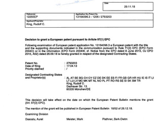 Game-changer patent to be issued for SwiftAlarm! within the European Union