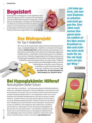 """SwiftAlarm! Deutschland : erneut von Diabetikern als """"lebenswichtig"""" bezeichnet"""