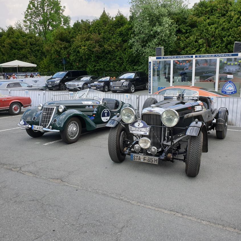 Alpenrally pre-war vintage cars