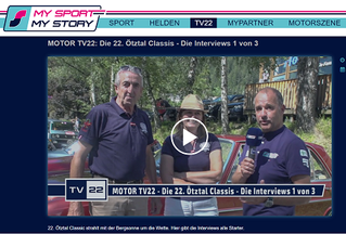 The King family and vintage cars featured at Oetztal Classic Rally 2020