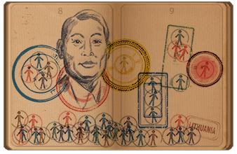 Google ehrt Chiune Sugara - copyright google