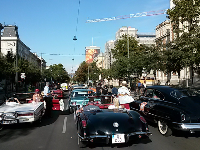 Vienna Classic Days 2018 Oldtimer Rally DrKing.tv