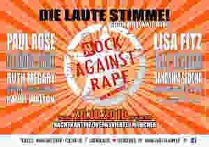 RockAgainstRape Plakat