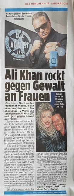 """Freude und Überraschung - zur Initiative """"Rock against Rape"""" von Ali Khan"""