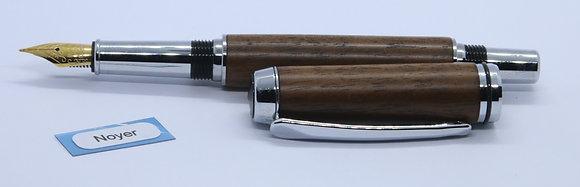 Stylo plume en noyer (S986p)