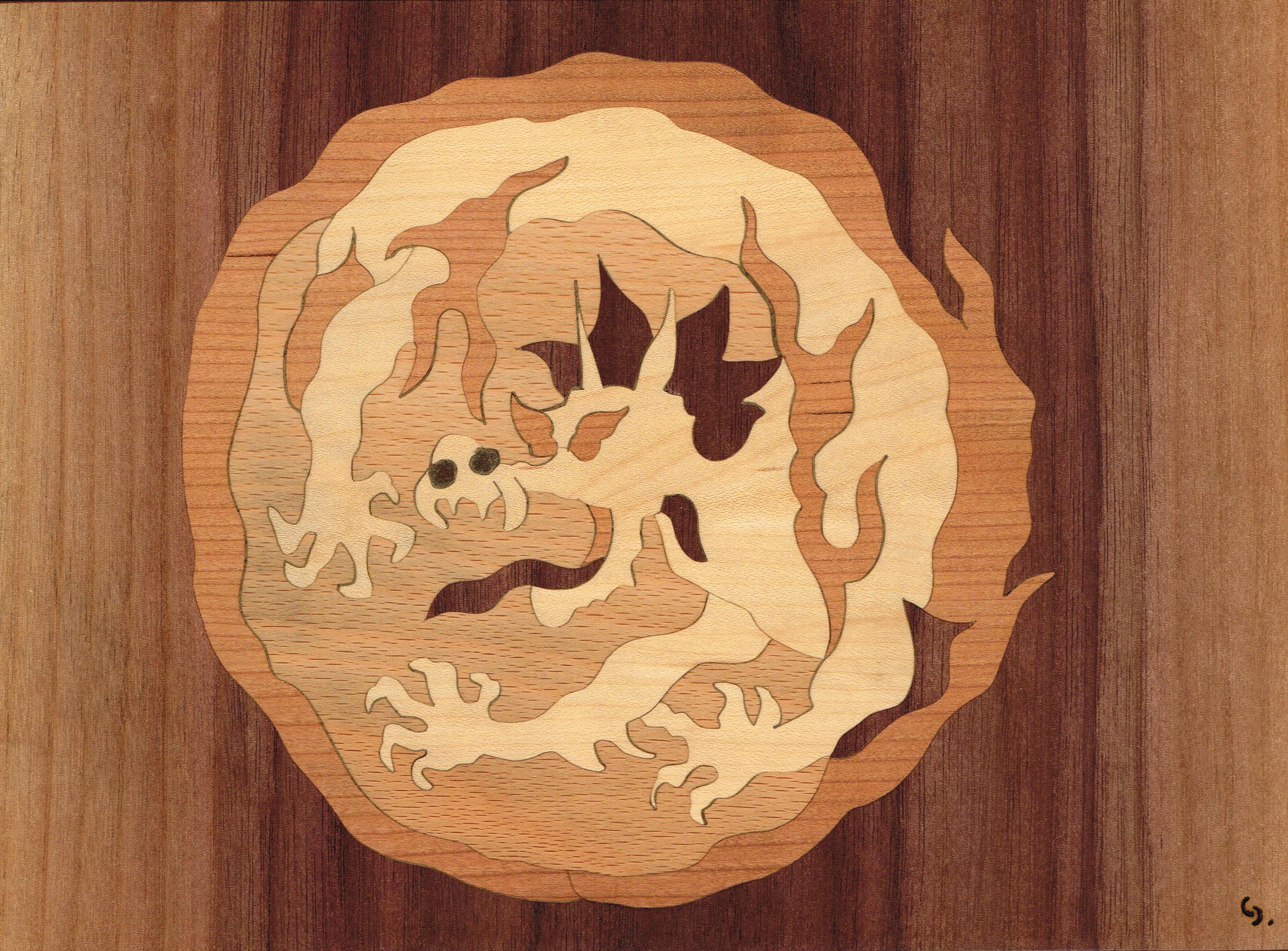 Dessous de plat dragon
