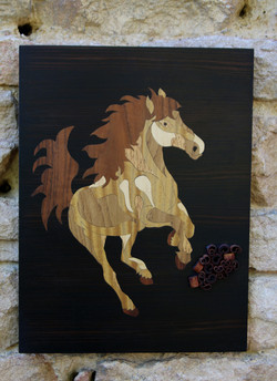 cheval canelle