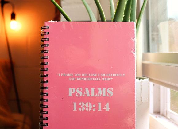 Psalms 39:14 : live inspired write inspired