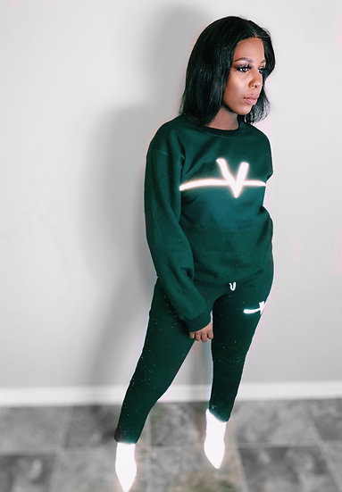 Forest Roman Numeral Sweat Suit