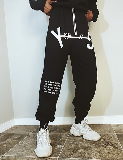 Y5 Cement Joggers