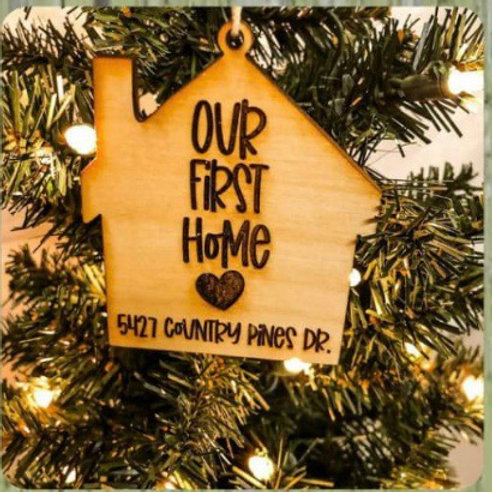 Ornament- Our First Home