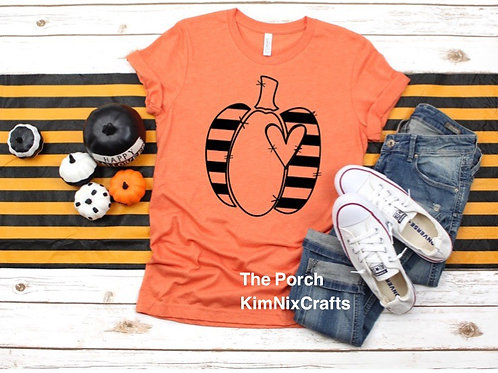 Pumpkin with Heart