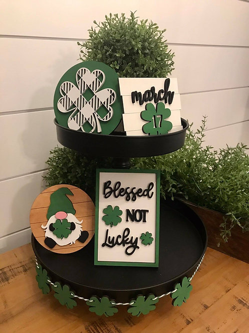 Blessed Not Lucky Decor