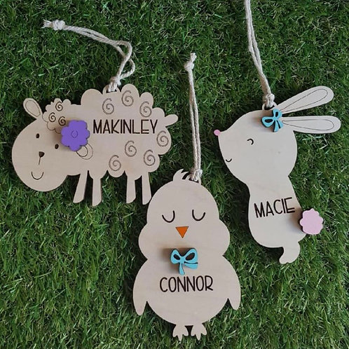 Easter tags - Personalized