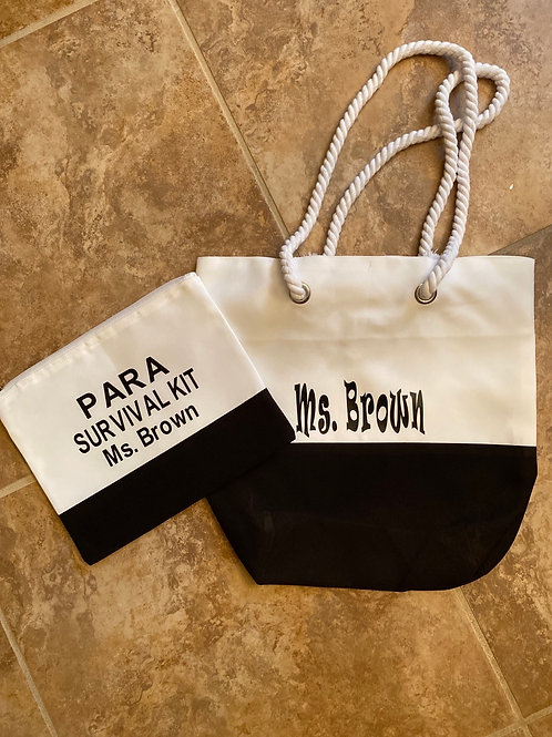 Tote, Pouch or Set