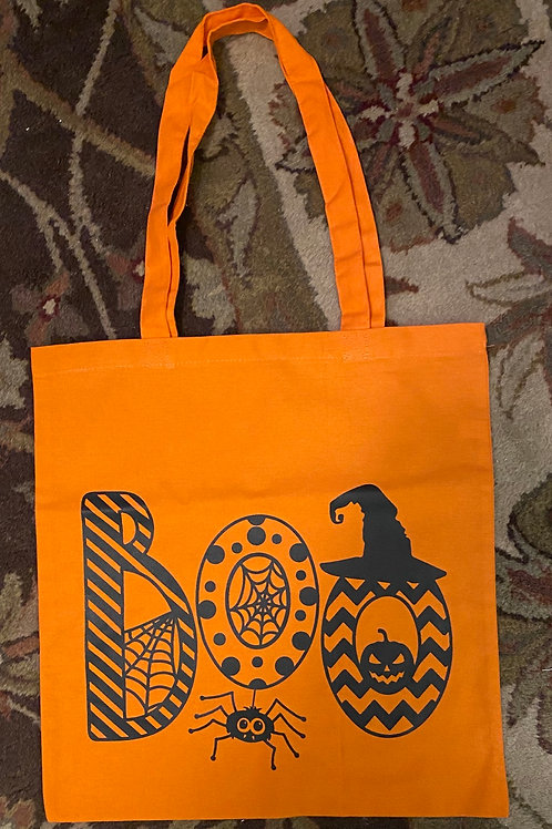 Orange Trick or Treat bag