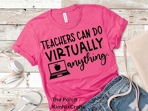 Teachers - Virtually Anything - Black design