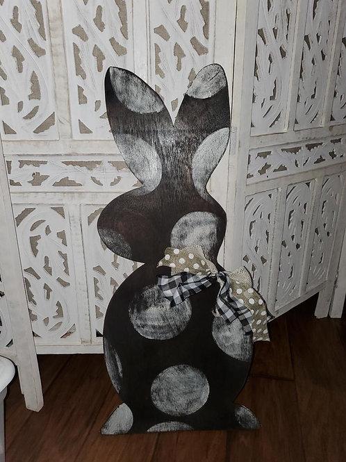 Bunny doorhanger/Yard stack
