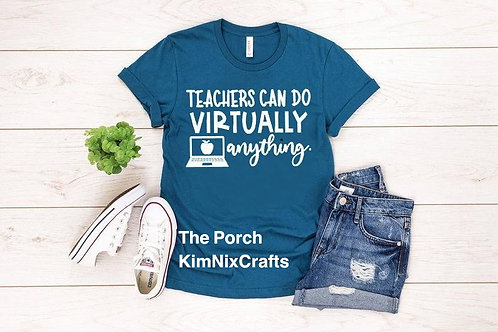 Teachers - Virtually Anything - White design